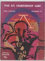 1968 (New York Jets vs. Oakland Raiders) [Good to VG‑EX]