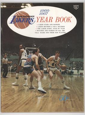 1966-67 Los Angeles Lakers Year Book #JEWE - Jerry West