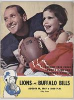 vs. Buffalo Bills (Wayne Walker) [Good to VG‑EX]
