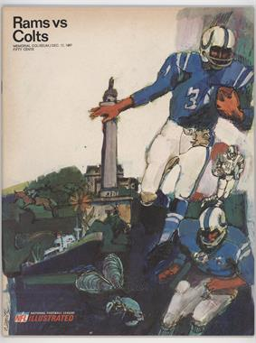 1967 Los Angeles Rams Game Programs #12-17 - vs. Baltimore Colts