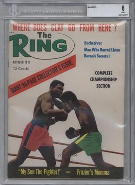 1971 The Ring - [Base] #10 - October (Muhammad Ali) [BGS6]