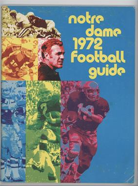 1972 Notre Dame Fighting Irish Football Guide #NDFI - Notre Dame Fighting Irish [Good to VG‑EX]