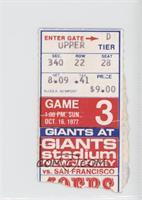October 16 vs. San Francisco 49ers [PoortoFair]