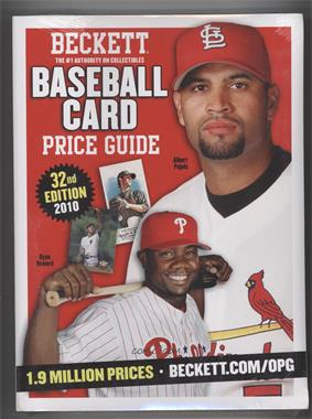 1979-Now Beckett Baseball Card Price Guide #32 - 2010 (Albert Pujols, Ryan Howard)
