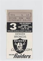 September 30 vs. Denver Broncos [GoodtoVG‑EX]