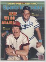 Mike Schmidt, George Brett [Good to VG‑EX]