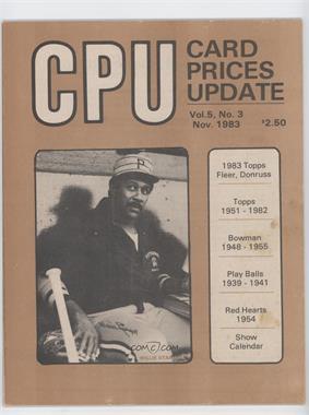 1983 Card Prices Update #5-3 - November (Willie Stargell) [GoodtoVG‑EX]