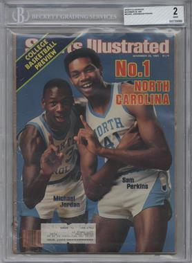 1983 Sports Illustrated #11-28 - Michael Jordan, Sam Perkins [BGS 2]
