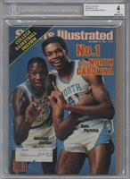 Michael Jordan, Sam Perkins [BGS 4]