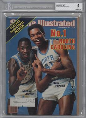 1983 Sports Illustrated #11-28 - Michael Jordan, Sam Perkins [BGS4]