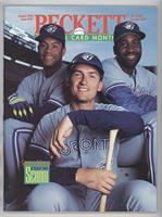 August 1993 (Roberto Alomar, Joe Carter, John Olerud)