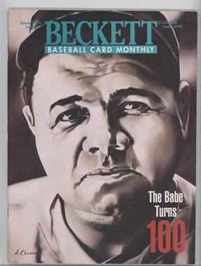 1984-Now Beckett Baseball - [Base] #119 - February 1995 (Babe Ruth)