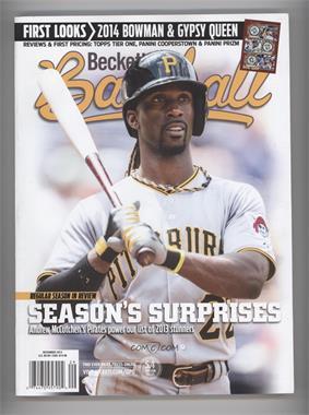 1984-Now Beckett Baseball - [Base] #12-13 - December 2013 (Andrew McCutchen)
