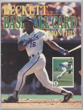 1984-Now Beckett Baseball - [Base] #59 - February 1990 (Bo Jackson) [GoodtoVG‑EX]