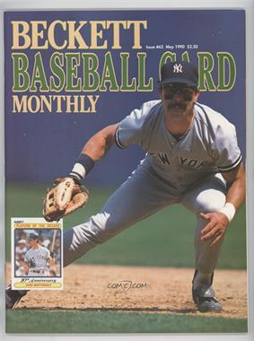 1984-Now Beckett Baseball - [Base] #62 - May 1990 (Don Mattingly)