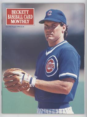 1984-Now Beckett Baseball - [Base] #65 - August 1990 (Ryne Sandberg)