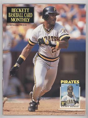 1984-Now Beckett Baseball - [Base] #68 - November 1990 (Barry Bonds)