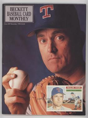 1984-Now Beckett Baseball - [Base] #69 - December 1990 (Nolan Ryan)