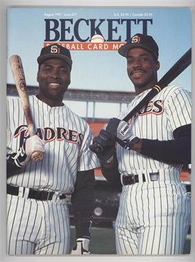 1984-Now Beckett Baseball - [Base] #77 - August 1991 (Tony Gwynn, Fred McGriff)