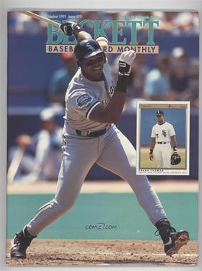 1984-Now Beckett Baseball - [Base] #79 - October 1991 (Frank Thomas)