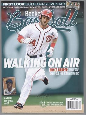 1984-Now Beckett Baseball #07-13 - July 2013 (Bryce Harper)