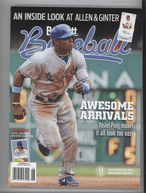 1984-Now Beckett Baseball #09-13 - September 2013 (Yasiel Puig)