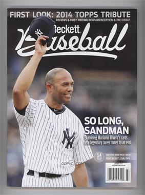 1984-Now Beckett Baseball #10-13 - October 2013 (Mariano Rivera)