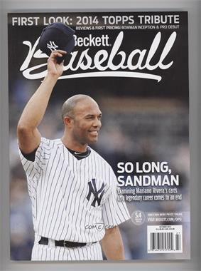 1984-Now Beckett Baseball #10-13 - October 2013 (Mariano Rivera)
