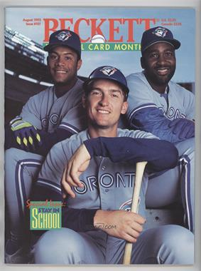 1984-Now Beckett Baseball #101 - August 1993 (Roberto Alomar, Joe Carter, John Olerud)