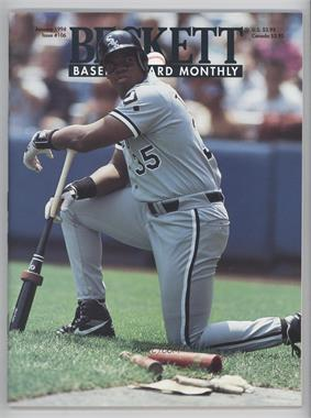 1984-Now Beckett Baseball #106 - January 1994 (Frank Thomas)