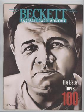 1984-Now Beckett Baseball #119 - February 1995 (Babe Ruth)