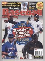 April 2002 (Ken Griffey Jr., Derek Jeter, Alex Rodriguez, Barry Bonds)