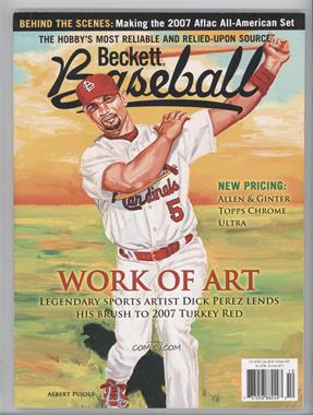 1984-Now Beckett Baseball #271 - October 2007 (Albert Pujols) [Good to VG‑EX]