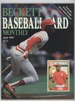 June 1987 (Eric Davis) [Good to VG‑EX]