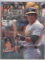 Jose Canseco (3-D cover)