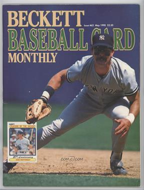 1984-Now Beckett Baseball #62 - May 1990 (Don Mattingly) [Good to VG‑EX]