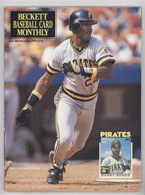 1984-Now Beckett Baseball #68 - November 1990 (Barry Bonds)