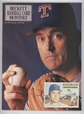 1984-Now Beckett Baseball #69 - December 1990 (Nolan Ryan)
