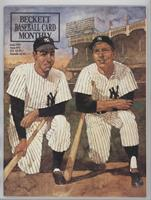 June 1991 (Joe DiMaggio, Mickey Mantle, Lou Gehrig, Babe Ruth) [Good to&nb…