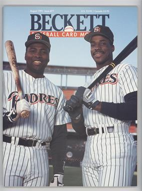 1984-Now Beckett Baseball #77 - August 1991 (Tony Gwynn, Fred McGriff)