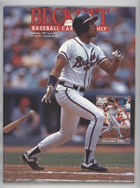 1984-Now Beckett Baseball #78 - September 1991 (David Justice)