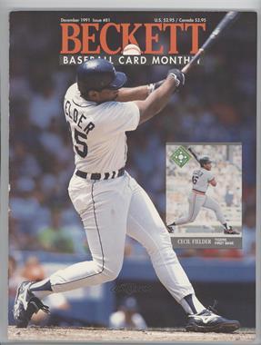 1984-Now Beckett Baseball #81 - [Missing]