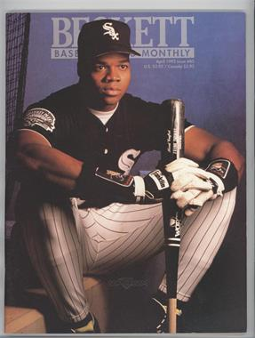 1984-Now Beckett Baseball #85 - April 1992 (Frank Thomas)