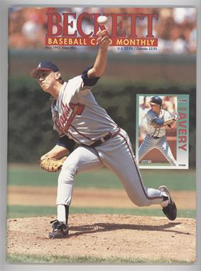 1984-Now Beckett Baseball #86 - May 1992 (Steve Avery)