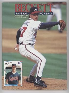 1984-Now Beckett Baseball #92 - November 1992 (Tom Glavine)