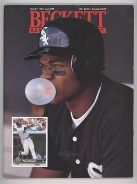1984-Now Beckett Baseball #94 - January 1993 (Frank Thomas)