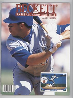 1984-Now Beckett Baseball #97 - April 1993 (Roberto Alomar)