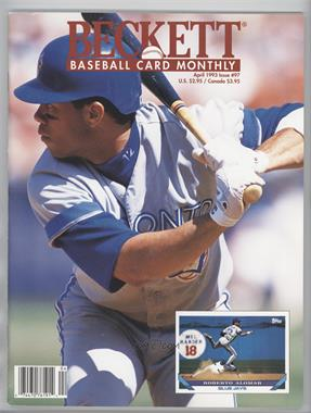 1984-Now Beckett Baseball #97 - April 1993 (Roberto Alomar) [Good to VG‑EX]