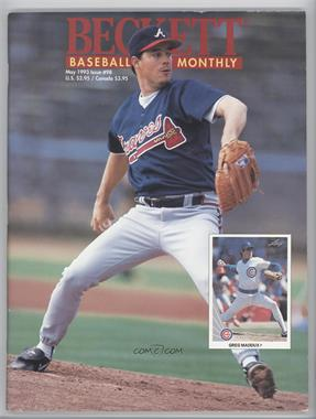 1984-Now Beckett Baseball #98 - May 1993 (Greg Maddux) [Good to VG‑EX]
