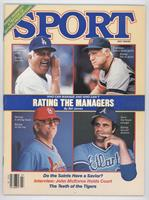 July (Tom Lasorda, Sparky Anderson, Whitey Herzog, Joe Torre)